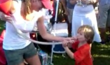 Young Miami U Fan Takes Down A Funnel (Video)