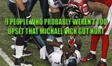 9 People Who Probably Weren't Too Upset That Michael Vick Got Hurt