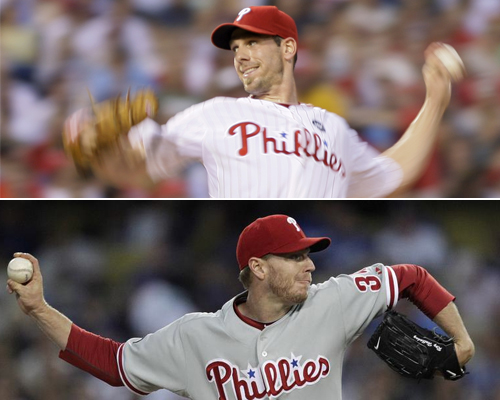 phillies rotation cliff lee halladay