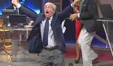 AC Milan Ties Barca In 90th Minute, Tiziano Crudeli Goes Crazy (Video)