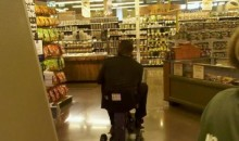 Picture Of The Day: Ryan Howard Was Motoring Through The Supermarket