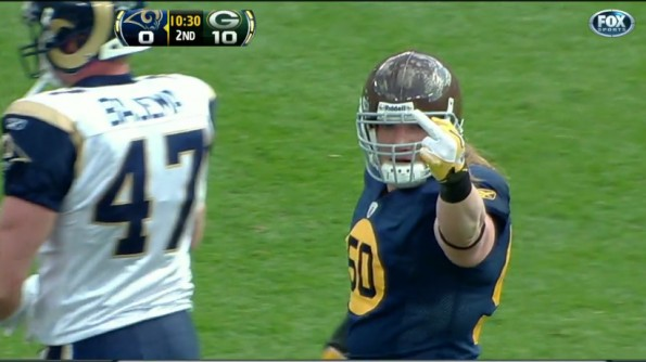 aj hawk middle finger