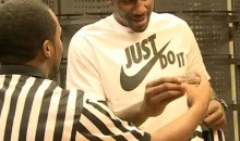 Amar'e Stoudemire Is Working At Foot Locker (Video)