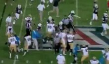 Last Night's UCLA-Arizona Game Featured A Streaker And A Bench-Clearing Brawl (Video)