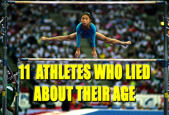 athletes who lied about their age (age fraud)