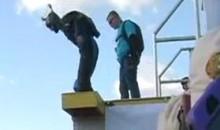 900-Foot BASE Jump Goes Horribly Wrong (Video)
