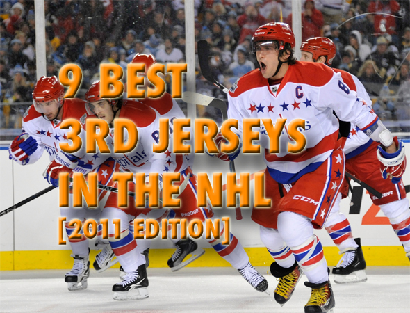 finest selection d06d5 bca99 9 Best 3rd Jerseys In The NHL | Total Pro Sports