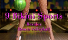 9 Bikini Sports (Besides Beach Volleyball)