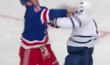 Frozen Fisticuffs Fight Of The Night — Brown vs. Newbury — 10/27/11