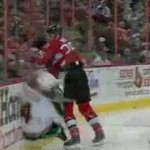 chris neil hits clayton stoner