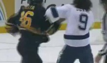 Frozen Fisticuffs Fight Of The Night — Kaleta vs. Downie — 10/25/11