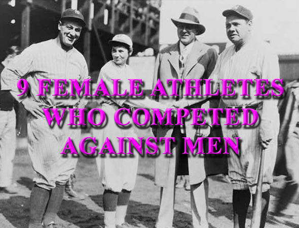 jackie mitchell and female athletes who competed against men