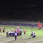 field goal interception