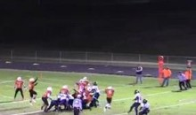 Hayden Knudson Intercepts Field-Goal, Takes It 90-Yards For TD (Video)