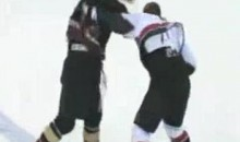Frozen Fisticuffs Fight Of The Night — One From The ECHL — 10/26/11