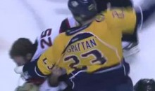 Frozen Fisticuffs Fight Of The Night — Janssen vs. McGrattan — 10/15/11