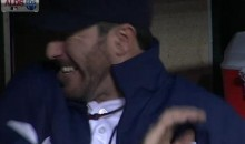 Justin Verlander Gets Beaned By A Foul Ball (Video)