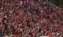 Lane Stadium + Enter Sandman = Win