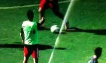 Leave Luis Suarez's Balls Alone! (Video)