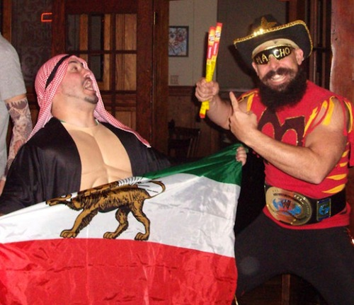 macho man and the sheik