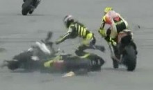 Moto GP Racer Marco Simoncelli Dies In Fatal Crash (Video)