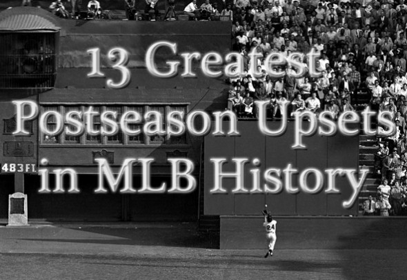 mlb postseason upsets