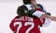Frozen Fisticuffs Fight Of The Night — Boulton Knocks Out Murray — 10/21/11