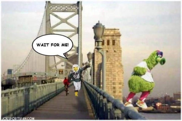 philadelphia mascot suicide