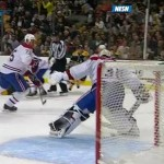 plekanec faceoff own goal