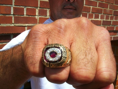 reds 1990 world series ring