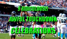 9 Ridiculously Awful Touchdown Celebrations