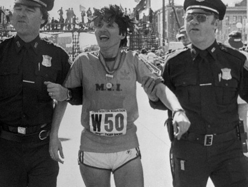 Rosie Ruiz After Winning Marathon