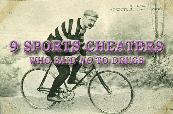 sports cheaters who didn't use drugs