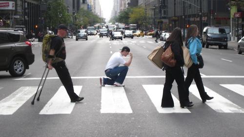 Beatles Tebowing