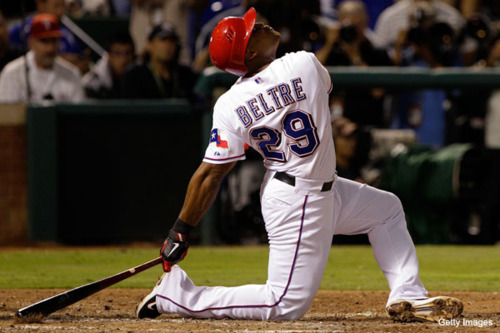 World Series Tebowing