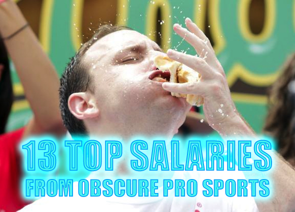 top highest salaries from obscure sports