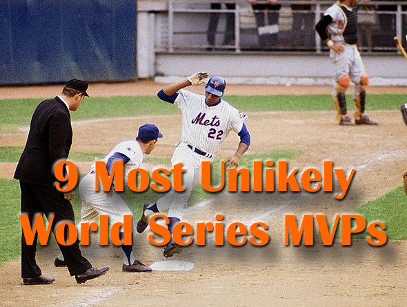 unlikely world series mvps