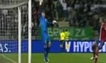 Slovenia's Dare Vrsic Scores On A 40-Meter Free Kick (Video)