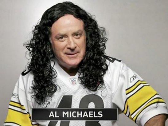 Al Michaels as Troy Polamalu