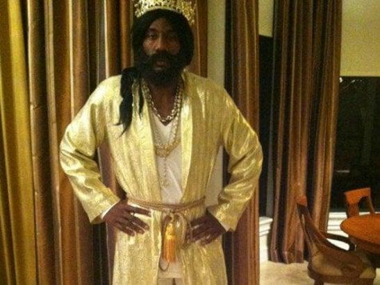 Amar'e Stoudemire as King Solomon