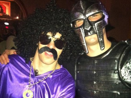 Crosby and Malkin as Pimp and Gladiator