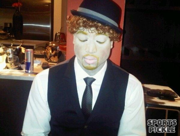 Dwyane Wade as Justin Timberlake