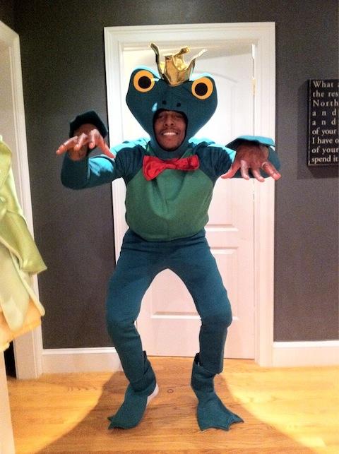 Paul Pierce as a Frog