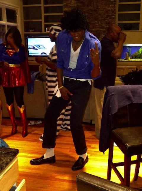 Rudy Gay is Michael Jackson