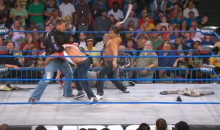 Ronnie From Jersey Shore Gets Housed On TNA Impact (Video)
