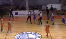Croatian Basketball Player Goes Nuts, Punches Ref (Video)
