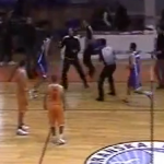 Player punches coach