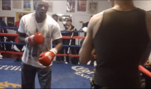 Charlie Zelenoff Gets Ass Whooping From 61-Year-Old Floyd Mayweather Sr. (Video)