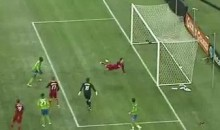 Tony Beltran's Head Saved Real Salt Lake's Season (Video)