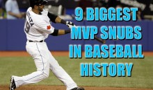 9 Biggest MVP Snubs In Baseball History